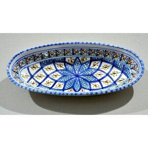 Rafraf Medium Oval Plate