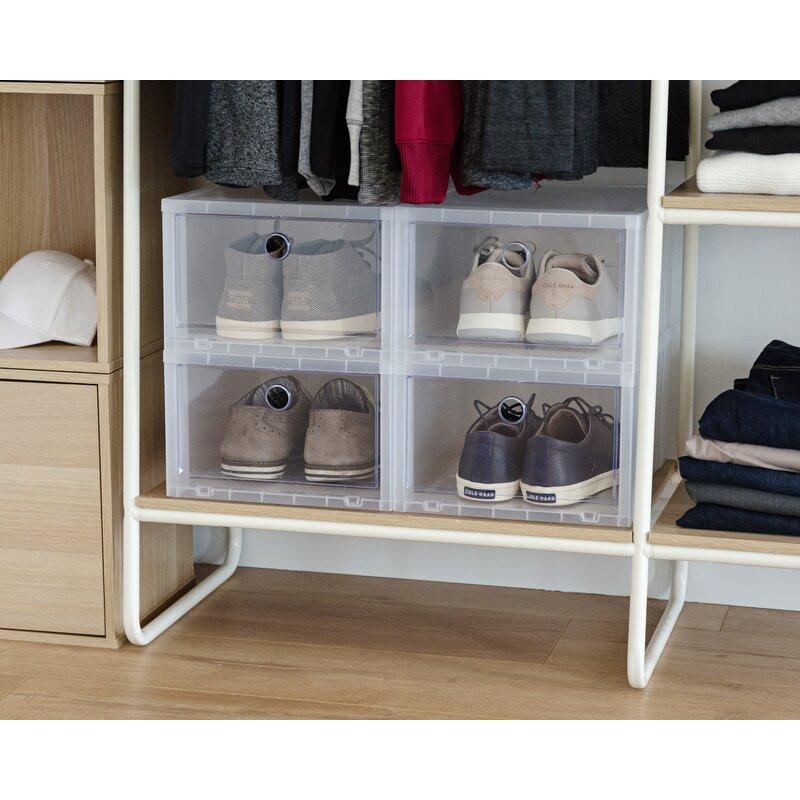 Superieur Wide Stackable Shoe Storage Box