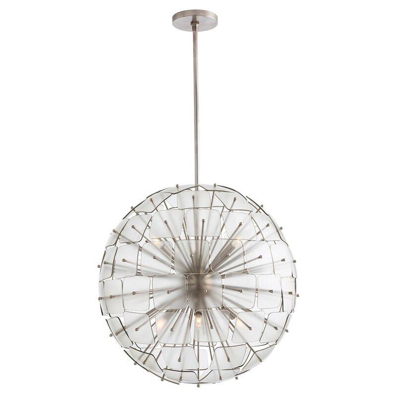 Arteriors home zanadoo enya 6 light globe chandelier wayfair zanadoo enya 6 light globe chandelier aloadofball Choice Image