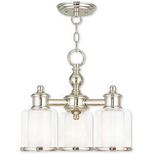 Lisle 3-Light Shaded Chandelier