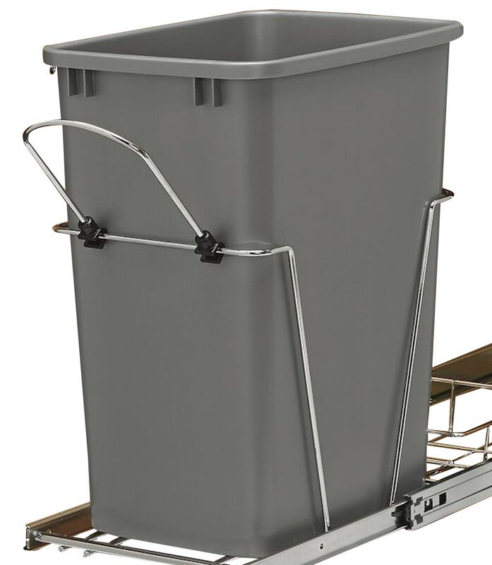 875 gallon pull out trash can