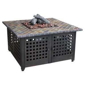 99LP Cast Iron Gas / Wood Fire Pit Table