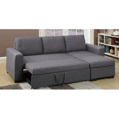 with in by sectional grey htm fabric tess coaster chaise coa sleeper p queen
