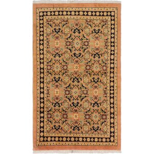 One-of-a-Kind Monterrey Hand-Knotted Copper Area Rug