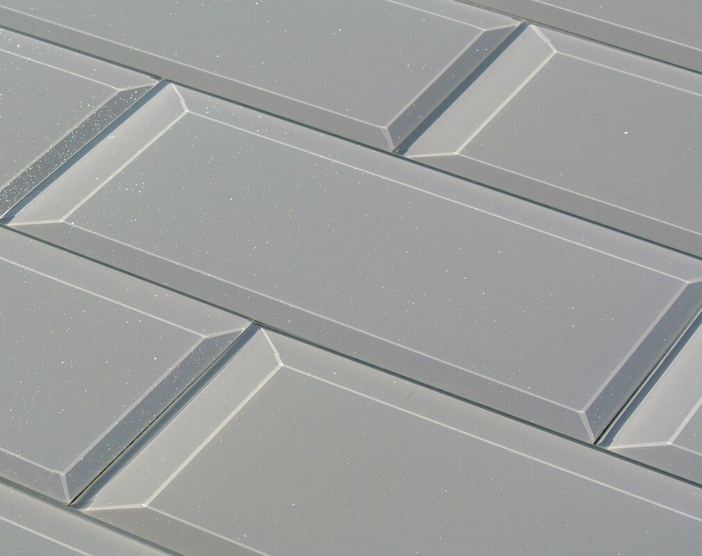 Abolos frosted elegance joey 3 x 12 glass subway tile in glossy frosted elegance joey 3 x 12 glass subway tile in glossy gray dailygadgetfo Images