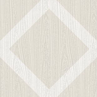 Ilusion 60.96 x 152.4cm Vinyl Field Tile in Natural (Set of 10) by Hokku Designs