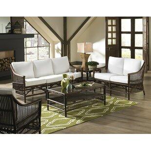 Bora 5 Piece Conservatory Living Room Set