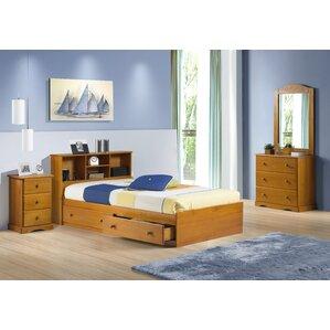 pine kids' bedroom sets you'll love | wayfair