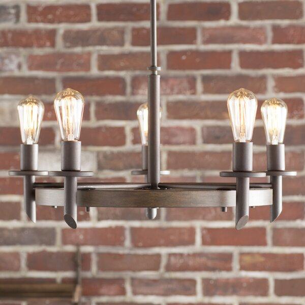 Trent Austin Design Redvale 5 Light Shaded Chandelier