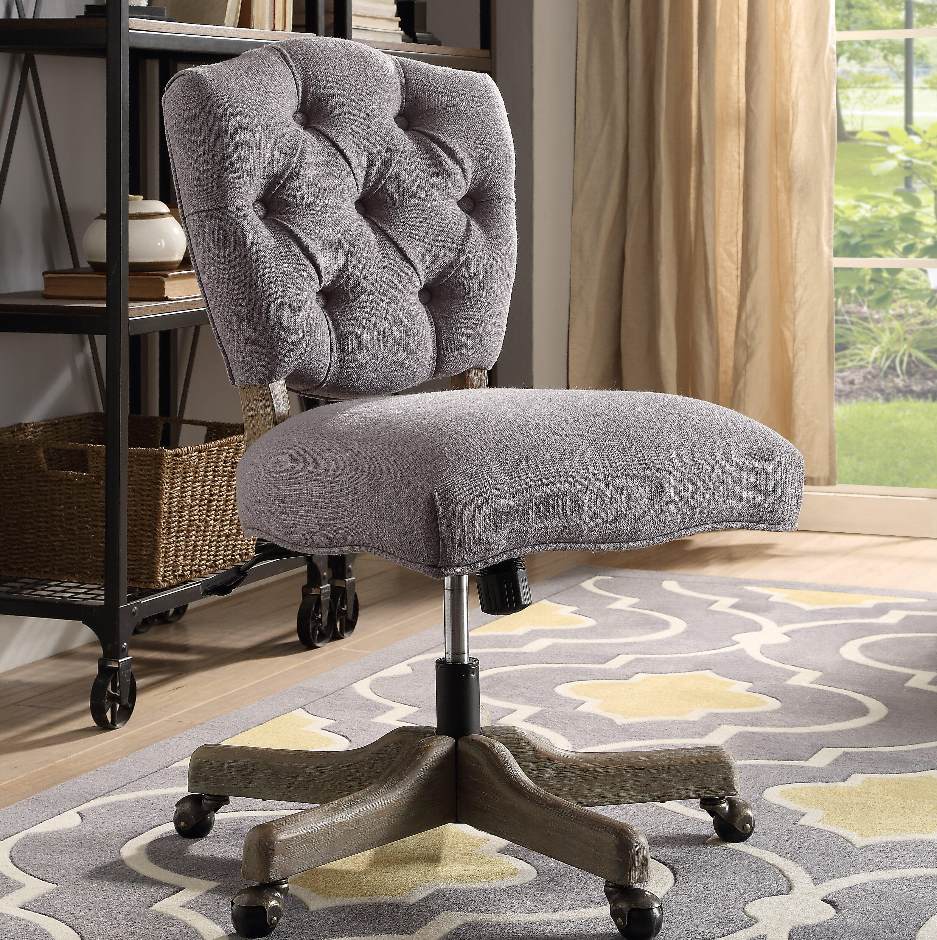 blue chair desk office genius chairs high rolling most with comfortable casters replacement awesome
