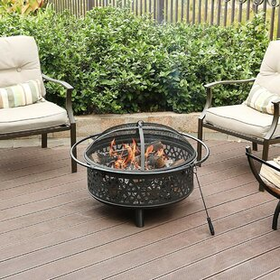 Charcoal Outdoor Fireplaces Fire Pits You Ll Love Wayfair