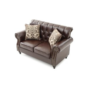 Waldroup Loveseat by Darby Home Co