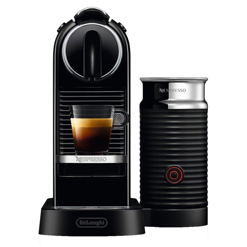 Nespresso CitiZ Espresso Machine with Aeroccino Milk ...
