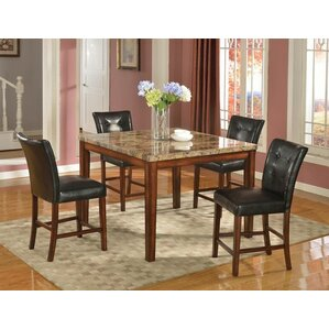 Quinn 5 Piece Dining Set by Beverly Fine Furniture