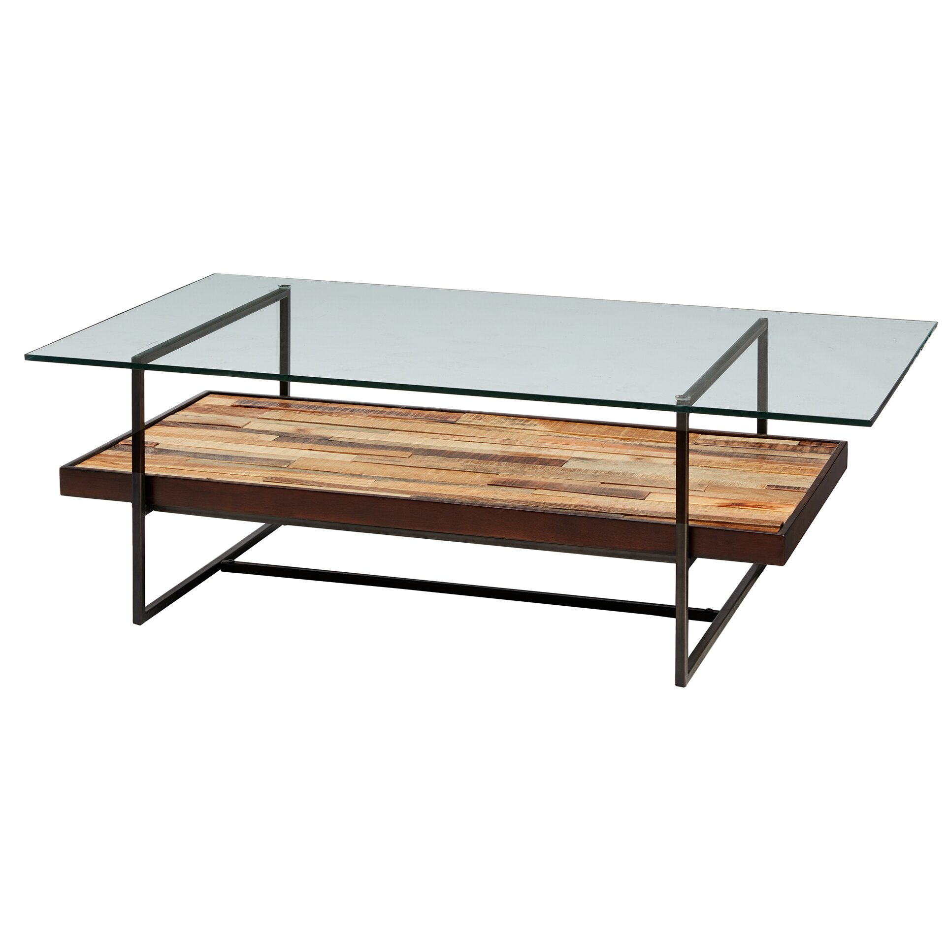 Tavarua coffee table with magazine rack reviews allmodern for Regulation 85 table a