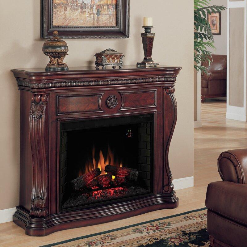 Classic Flame Lexington Electric Fireplace Mantel Surround - Mantel electric fireplace