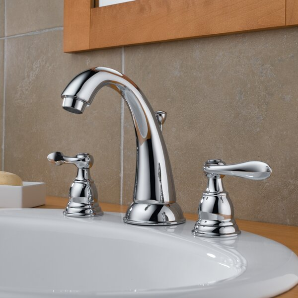 Delta Windemere Widespread Bathroom Faucet With Double Lever Handles Reviews: Delta Windemere Widespread Bathroom Faucet With Double Lever Handles & Reviews