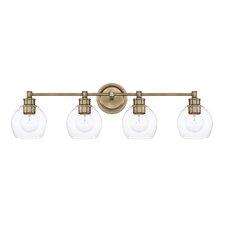 Modern Antique Brass Vanity Lighting   AllModernExcellent Clear Glass Bathroom Vanity Lights Pictures   Interior  . Clear Glass Bathroom Vanity Lights. Home Design Ideas