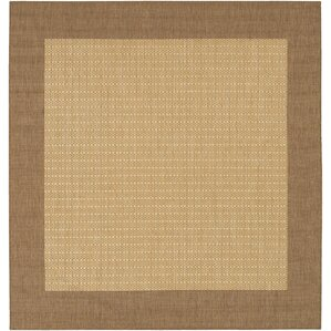 Southard Cocoa/Natural Indoor/Outdoor Area Rug