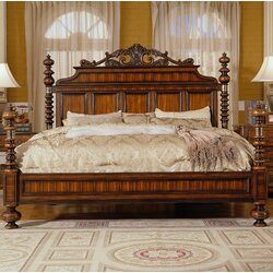EasternLegends Lisbon King Canopy Customizable Bedroom Set Wayfair