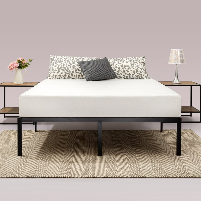 classic metal platform bed frame - Queen Bed And Frame