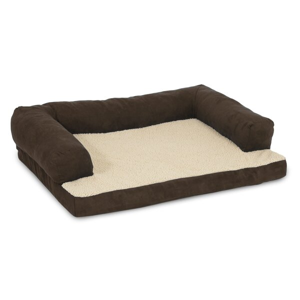 aspen pet orthopedic bolster dog bed & reviews | wayfair