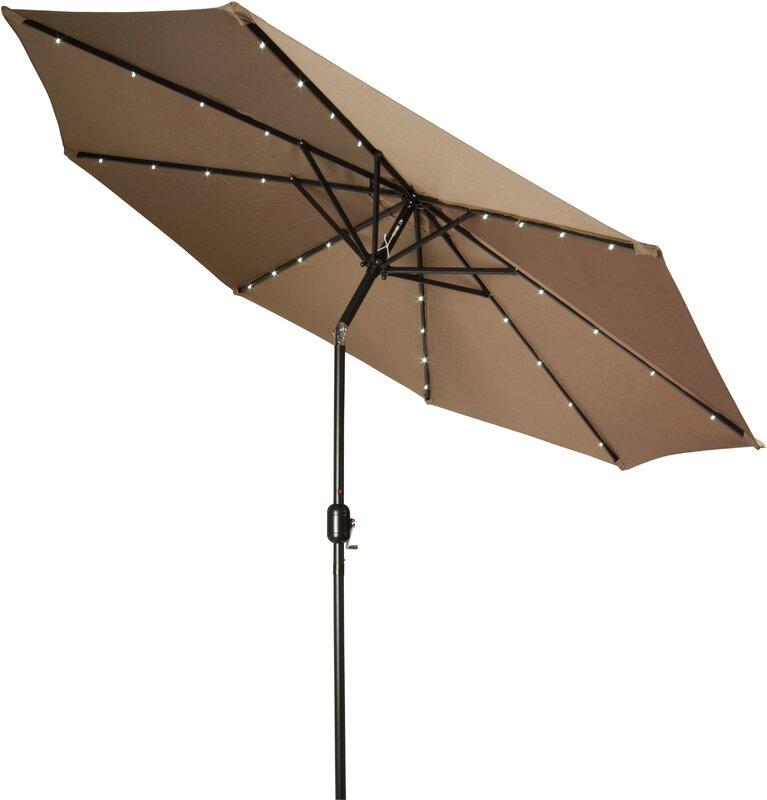 Charming 9u0027 Gorman Illuminated Umbrella