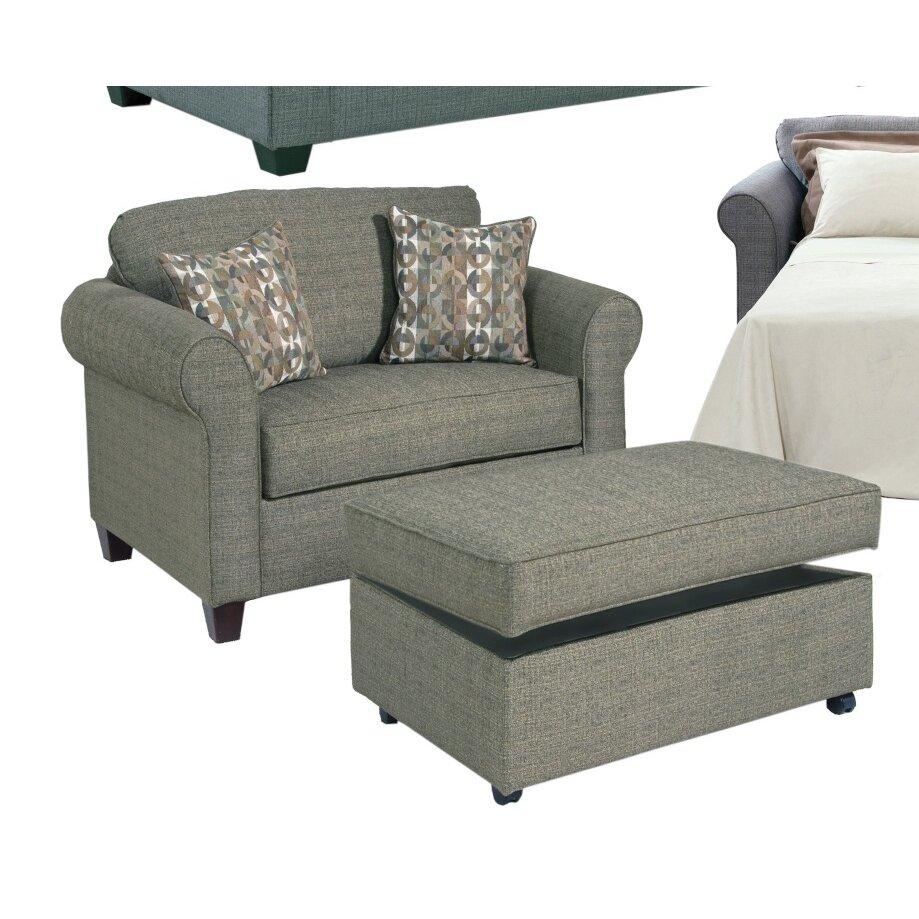 Andover Mills Serta Upholstery Blackmon Convertible Chair