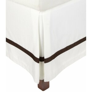 Striped Cotton Bed Skirt