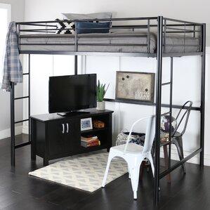 maurice loft bed - Metal Frame Loft Bed