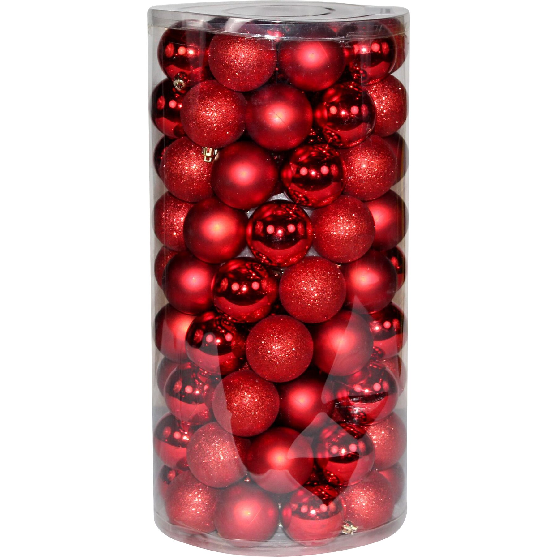 Plastic ornament - Ball Plastic Ornament