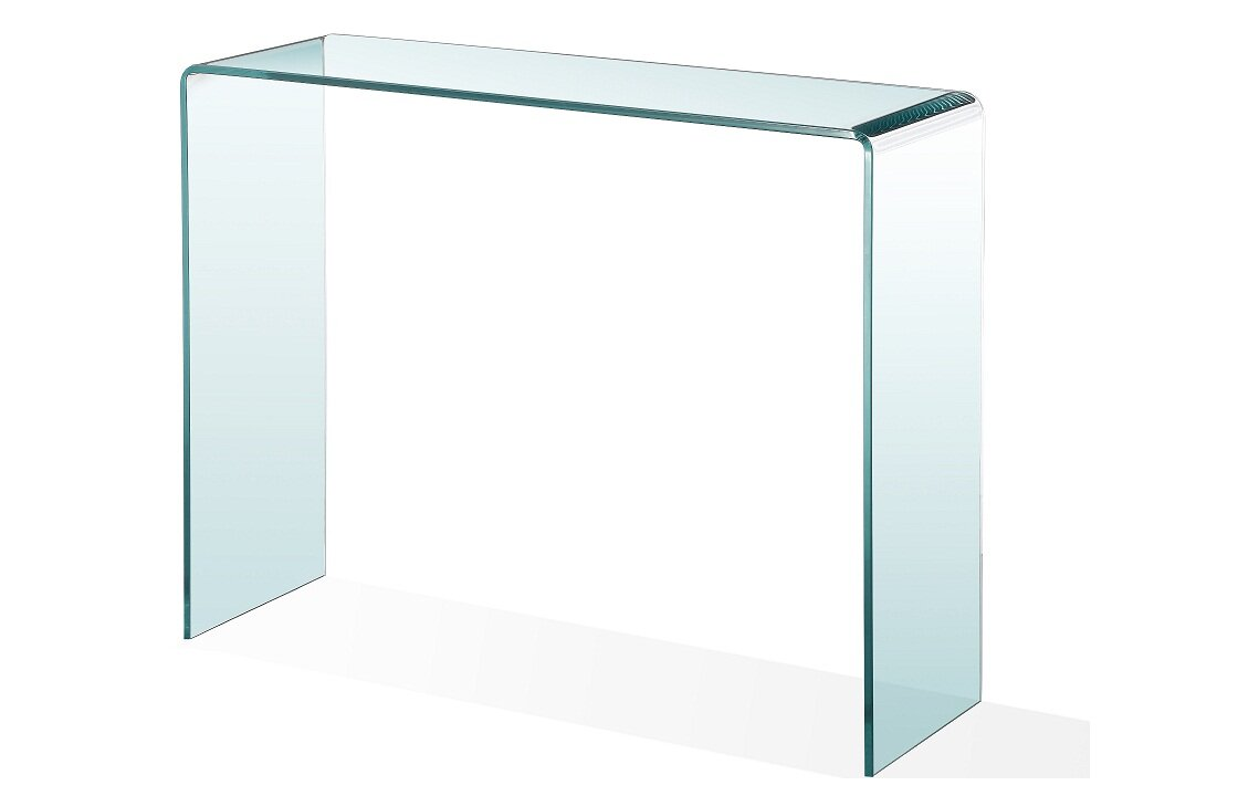 ca designs waterfall glass console table  wayfair - defaultname