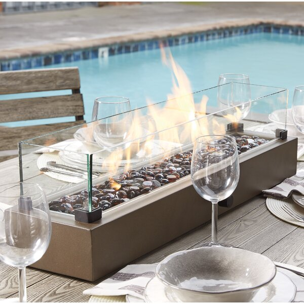 Signature Design by Ashley Hatchlands Propane Tabletop Fireplace