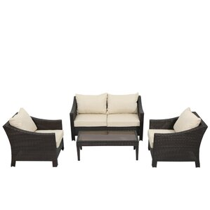 4 Piece Walter Patio Seating Group