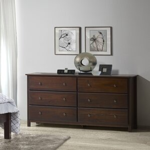 Dressers   Chest of Drawers You ll Love   Wayfair Shaker 6 Drawer Dresser. Drawers For Bedroom. Home Design Ideas