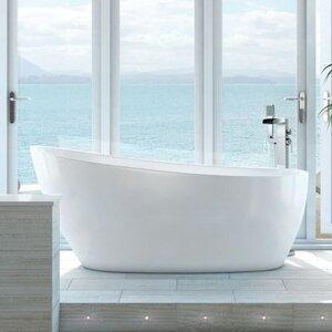 Bath 74cm x 150cm Freestanding Soaking Bathtub