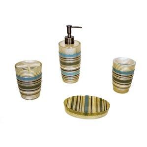 Champagne Color Bathroom Accessories Wayfair
