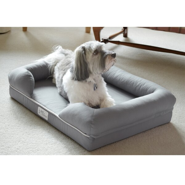 petfusion ultimate lounge premium edition dog bolster with solid