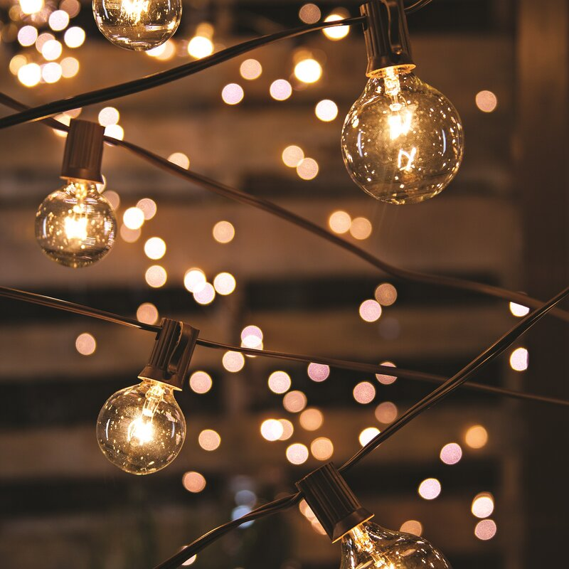 Light Bulbs On A String Awesome The Gerson Companies 60Light 60 Ft Globe String Lights Reviews