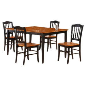 Windham 5 Piece Dining Set by Alcott Hill