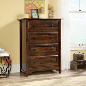 Coyne 4 Drawer Wood Chest by World Menagerie