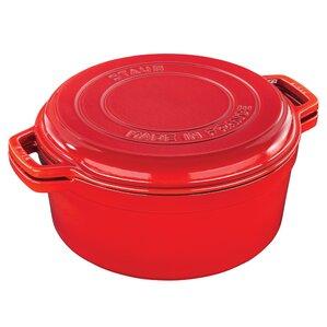 7-qt. Cast Iron Round Dutch Oven