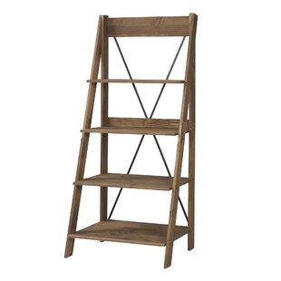 Dark Wood Ladder Shelf Wayfaircouk