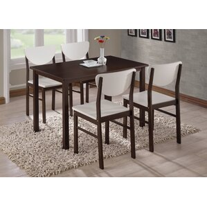 Dining Table 2 tone dining table | wayfair