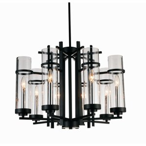 Sierra 8-Light LED Candle-Style Chandelier