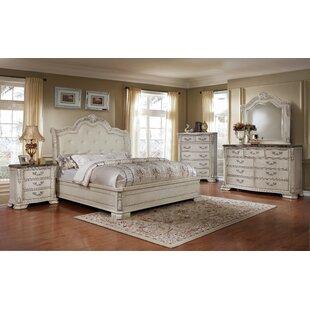 Lankford Panel 4 Piece Bedroom Set
