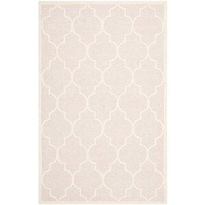 cambridge light pink area rug