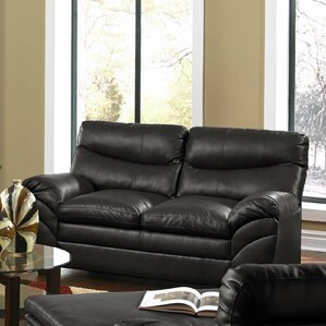 Simmons Upholstery Cates Loveseat by Red Bar..