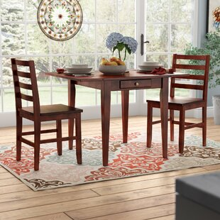 Arjun 3 Piece Drop Leaf Dining Set