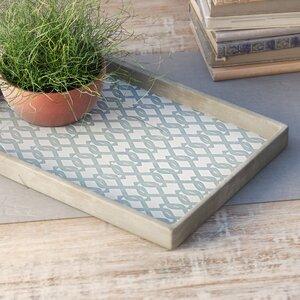 Geometric Rectangle Decorative Tray